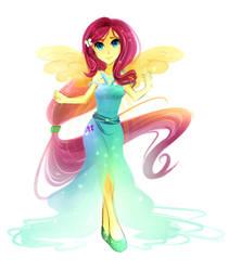 Fluttershy dress ver. 2 by Koveliana