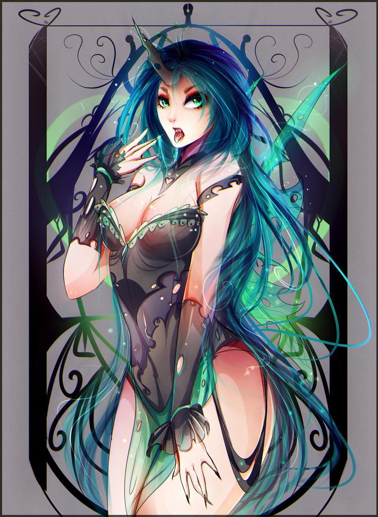 Queen Chrysalis by Koveliana