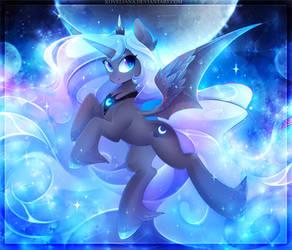 Princess Luna by Koveliana