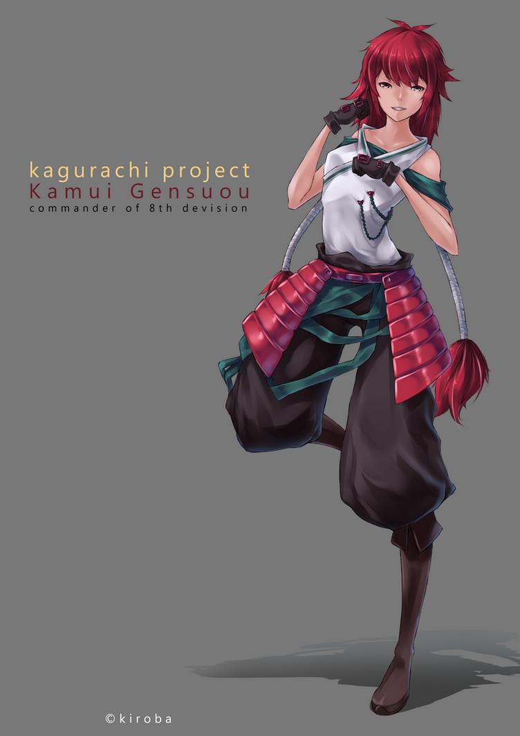 Kamui Gensuou by kiroba999