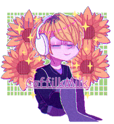 Sunflower (fiku el owoptimista) by CoffilkStuff