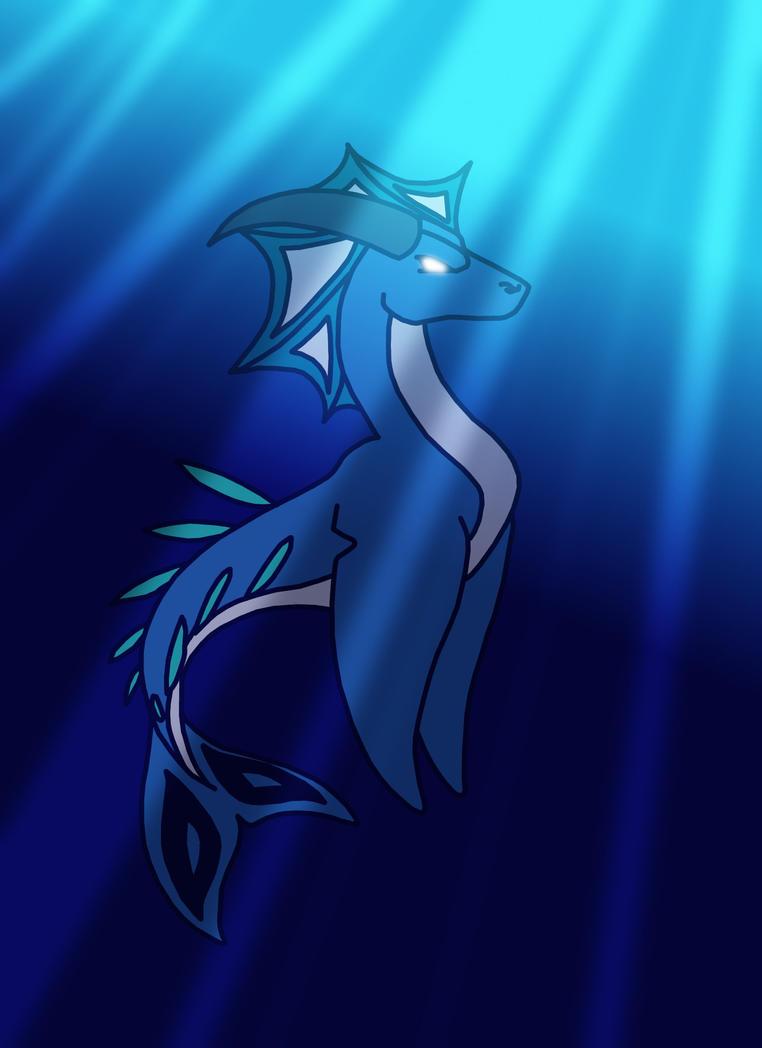 Royal Dragon Water by sandw1chl0vr