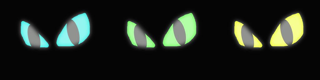 Glowing Eyes Project 108 by sandw1chl0vr