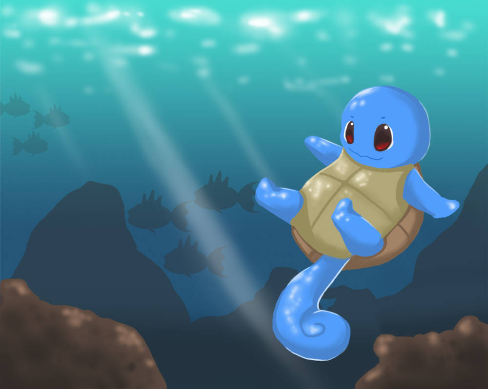 Squirtle by MagicMoonBird