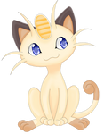 Meowth for the 151 pokemon challenge