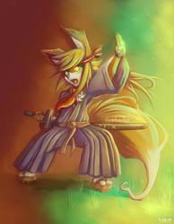Samurai Fox by Quadrackss