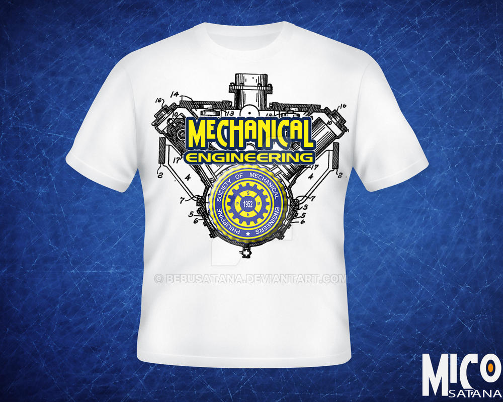 mechanical engineering shirt by bebusatana on deviantart