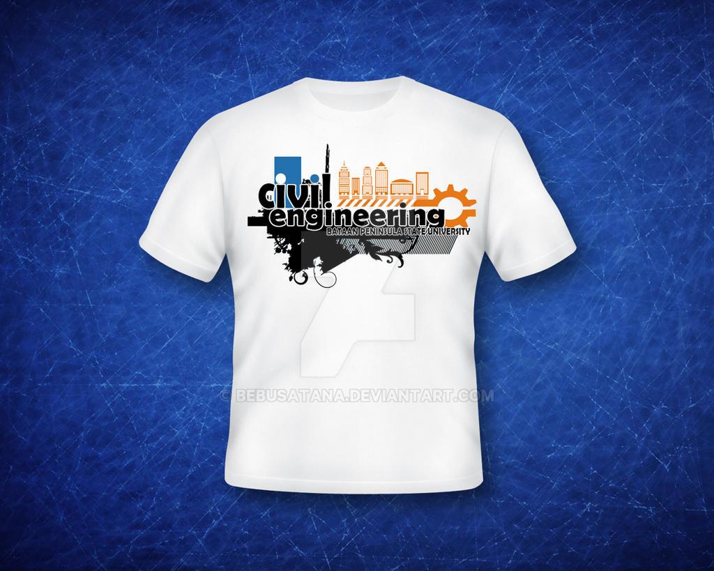 Design t shirt civil engineering - Civil Engineering Shirt V1 2 By Bebusatana