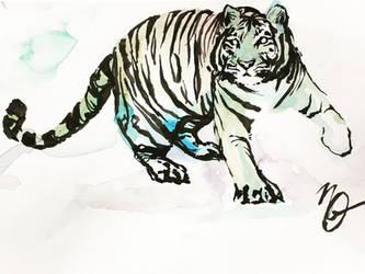 White tiger by Punished-JimJam
