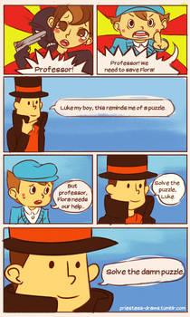 A true gentlemen leaves no puzzle unsolved