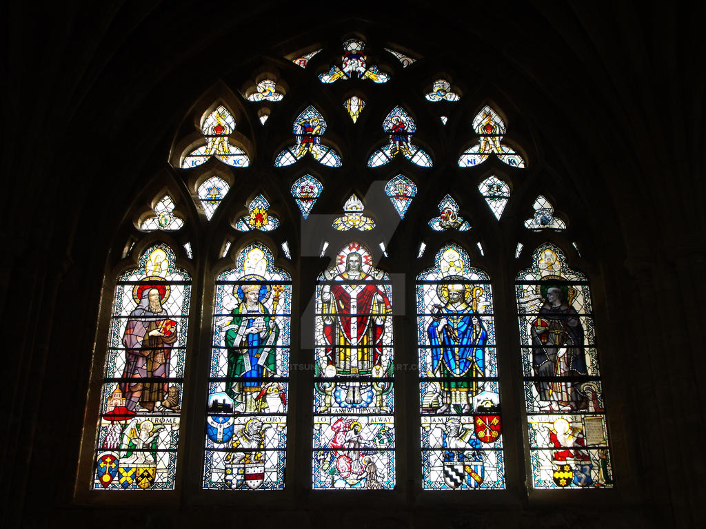 Stained Glass Windows Of Exeter Cathedral No