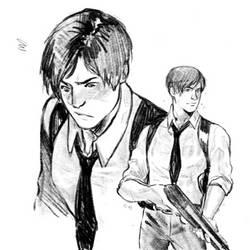 Leon sketches