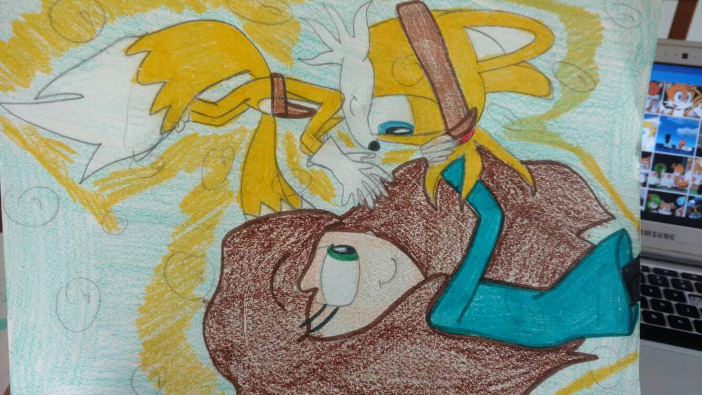 Emily and Tails Boom: Under the Magical Sea by tailsthefoxlover715