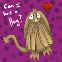 bat wants a hug by my-darkness