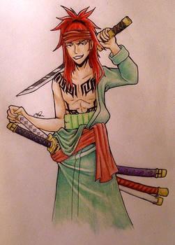 Abarai Renji/Roronoa Zoro