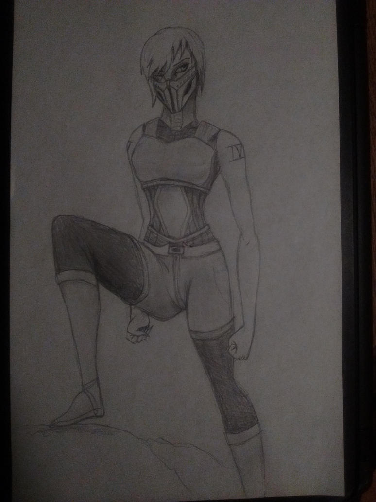 Art Trade - Dullahan (Mortal Kombat OC) by ARC9652