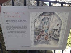 Launceston Castle First Floor Info