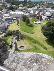 Launceston Castle From The Top