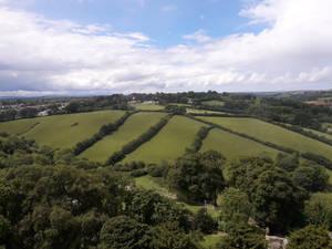 Launceston Castle View