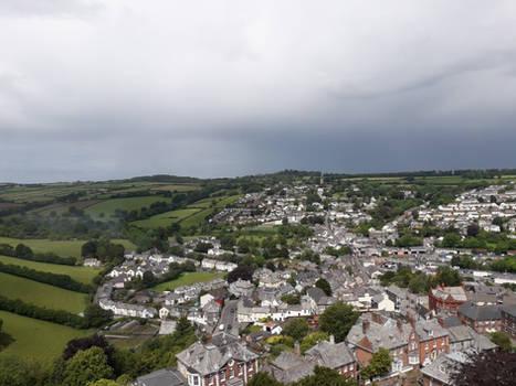 Launceston Castle View 2