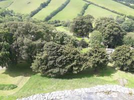Launceston Castle Long Drop