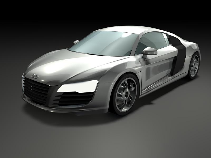 Audi R8 WIP by kiRo82