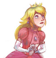 Princess Peach by russell-o