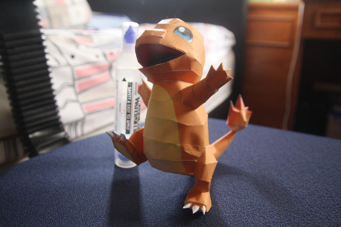 Charmander Papercraft by eXaLpHaXe