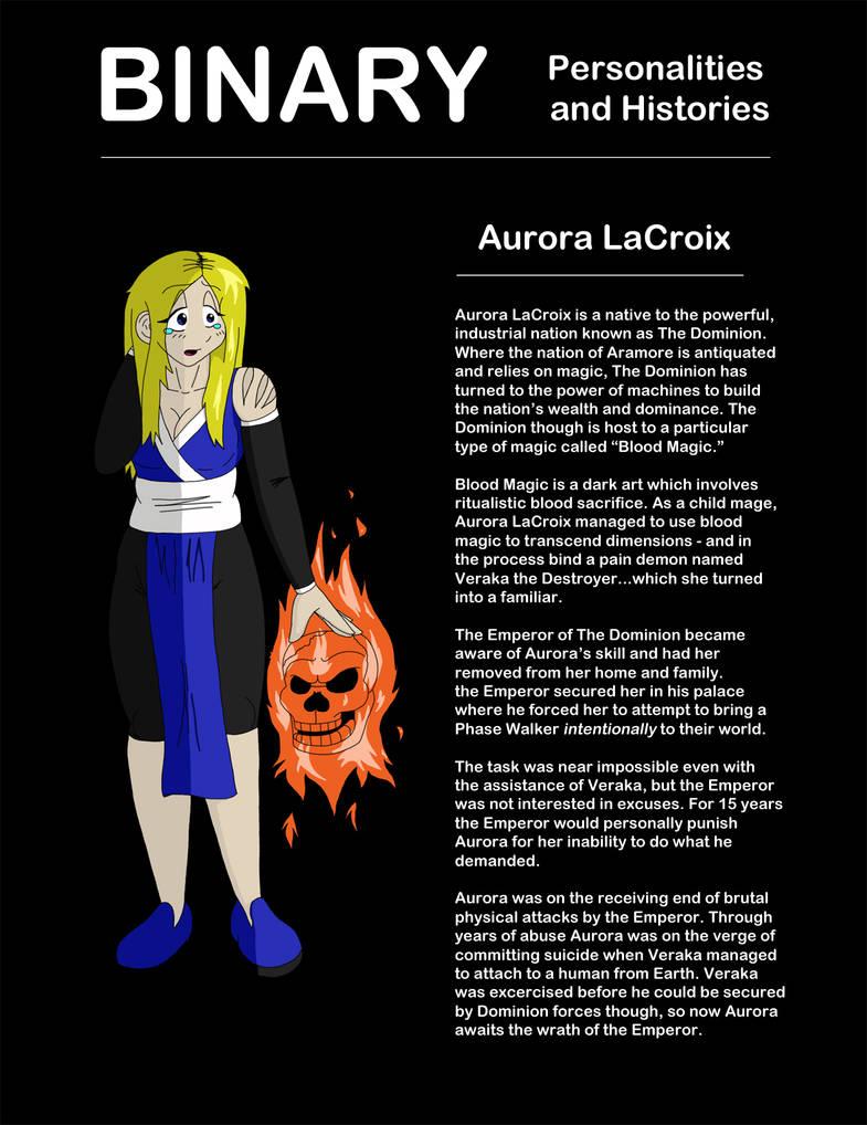 Binary - Aurora Character Profile by MoodyShooter on DeviantArt