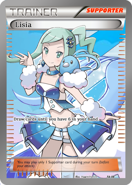 Lisia Full Art Trainer by Yveltal666