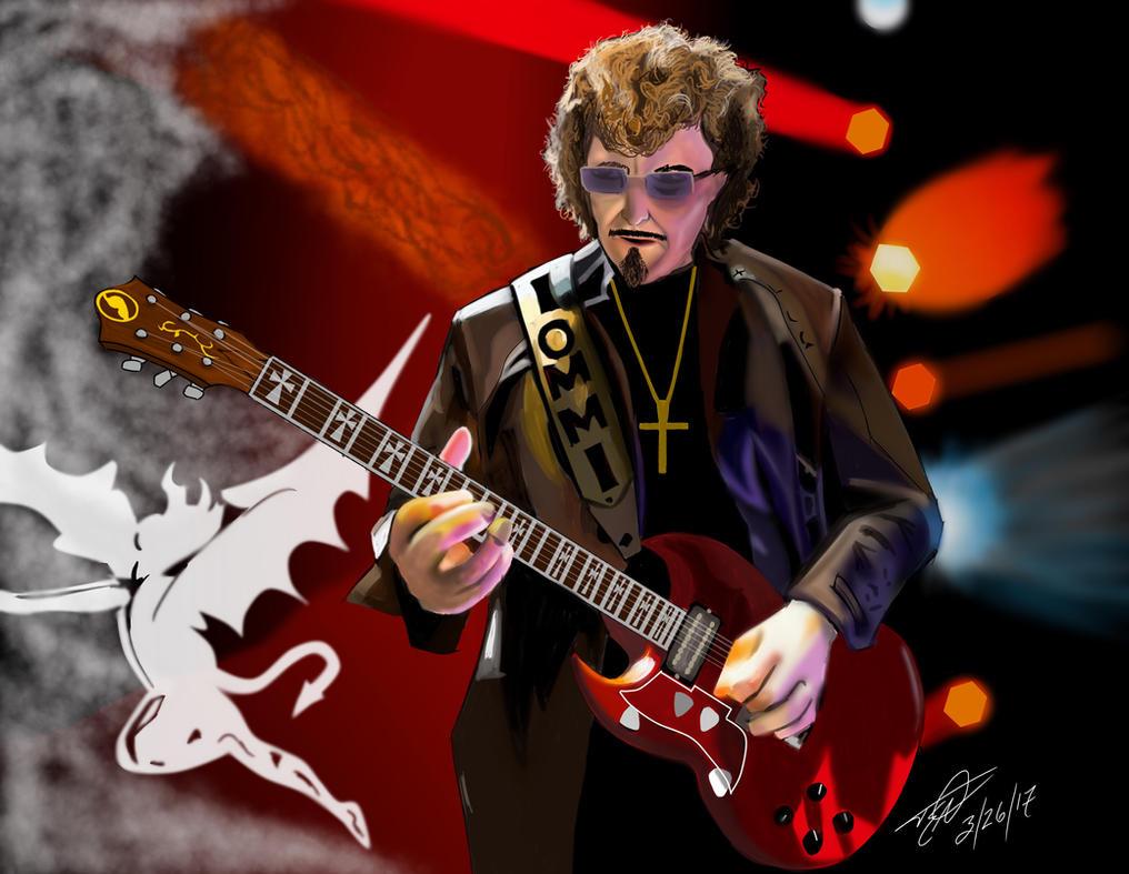 Tony Iommi, Lord of the Riffs by TommyEddy83
