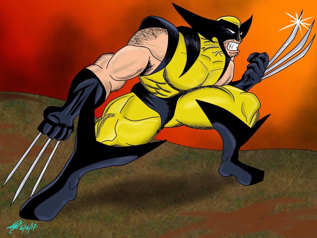 Wolverine  by TommyEddy83