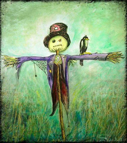 Scarecrow by staje