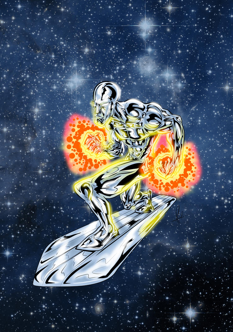 Silver Surfer by azzh316