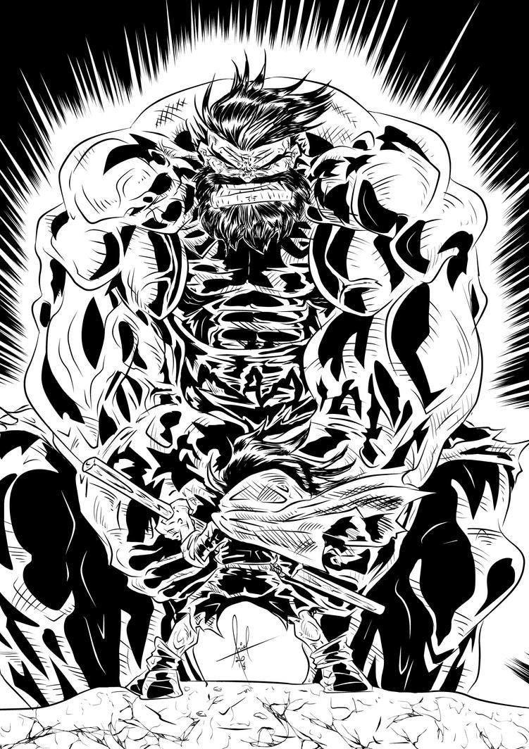 Inner Battle Inks by azzh316