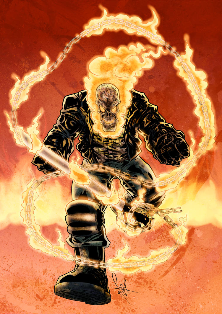 Sprit of Vengeance Ghost Rider Cover by azzh316