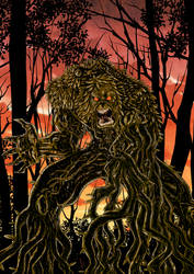 Swamp Thing 2018 Color by azzh316