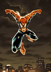 Spiderman 2019 Color by azzh316