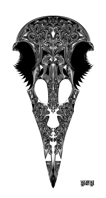 Kuzgun-Raven by ygy