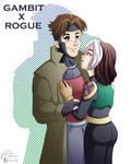 Gambit x Rogue