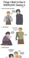 What I Want: Sherlock Pt. 1