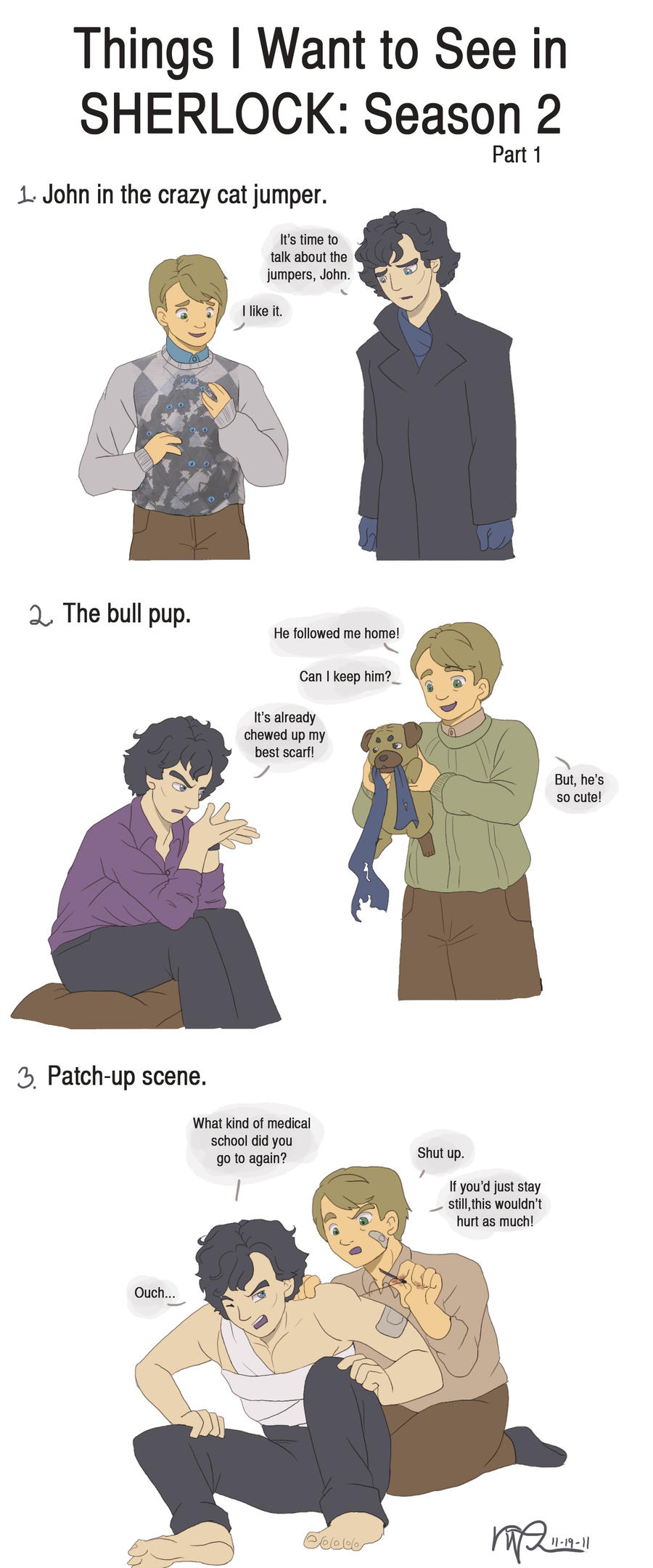 What I Want: Sherlock Pt. 1 by LauraDoodles