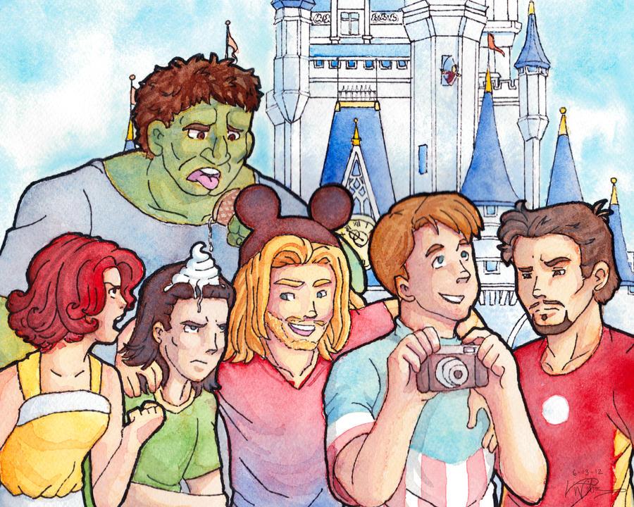 The Magic Ears Dudebro Fan Art Friday Avengers Assemble