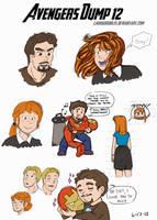 Avengers Dump 12 by LauraDoodles