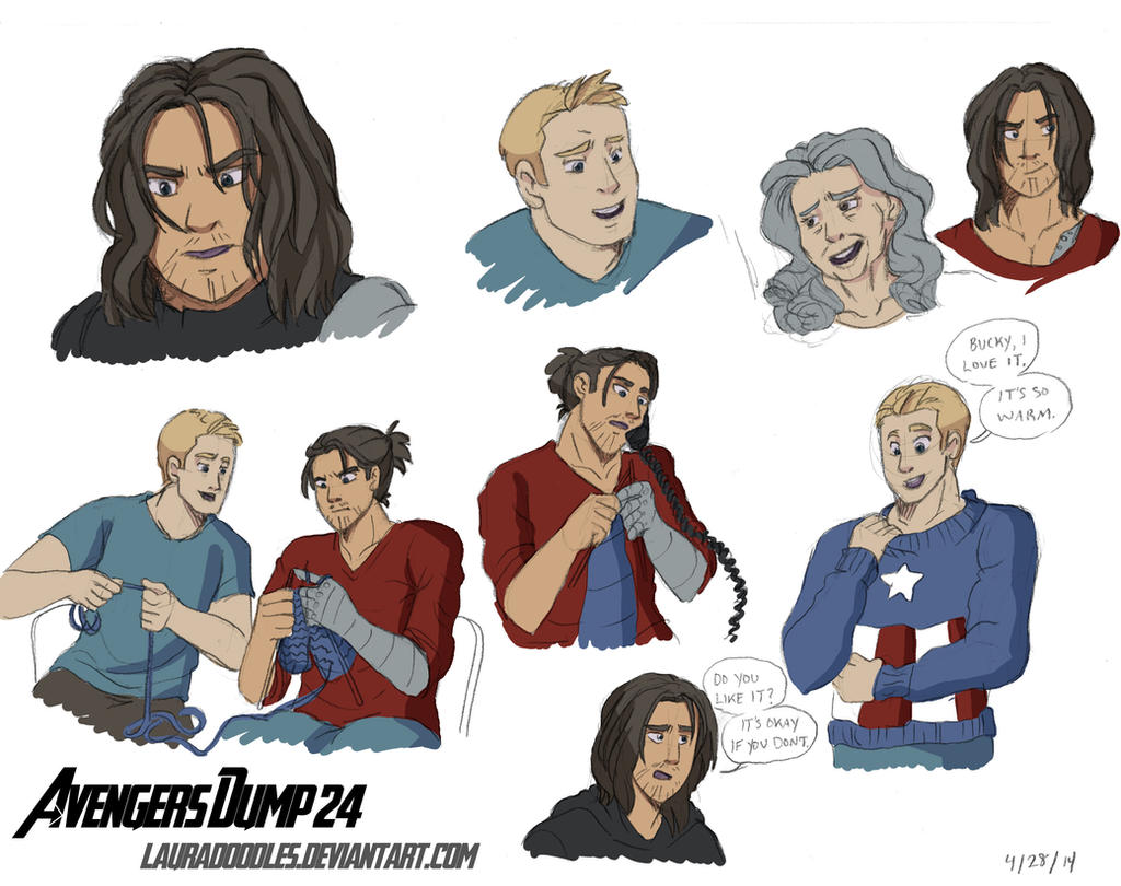 Avengers Dump 24 by LauraDoodles