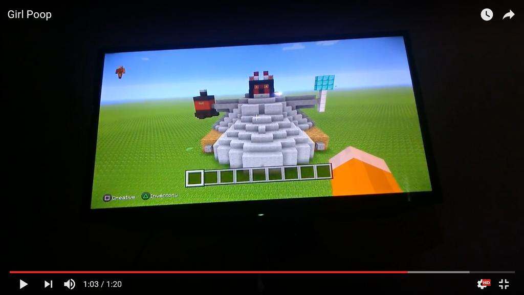 Big Wolf In Minecraft. by spencerbt123