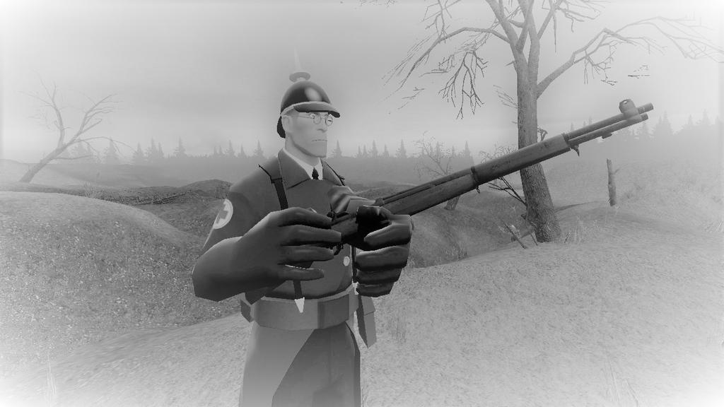 Gmod - Prussian Soldier. by spencerbt123