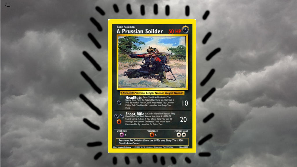Stupid Pokemon Card 1 by spencerbt123