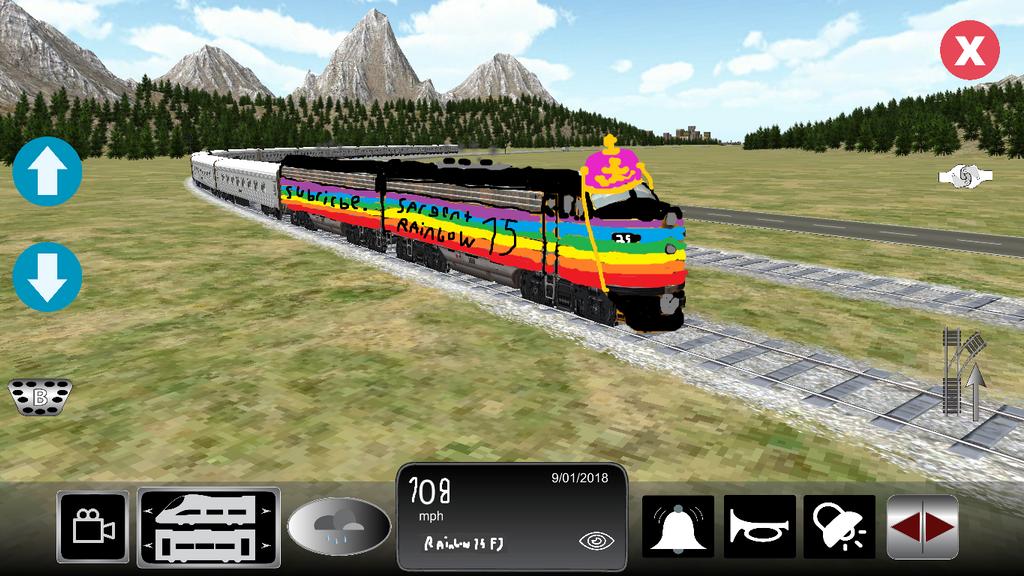 Train Sim New Train. by spencerbt123