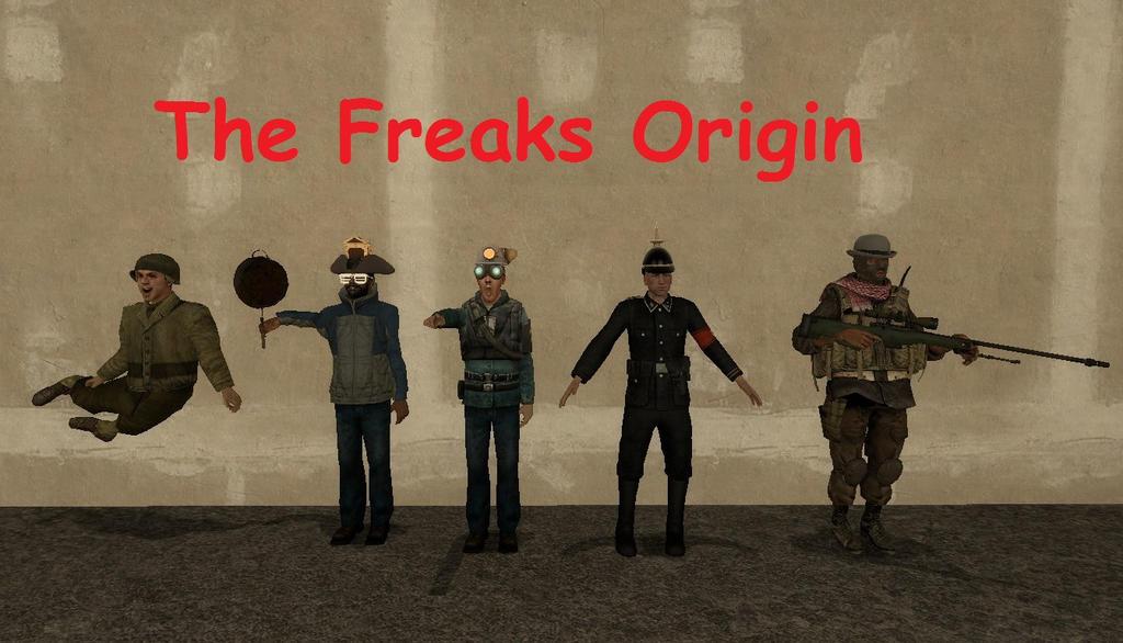 The Freaks Origin. by spencerbt123